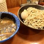 麺屋 ジギー - 『濃厚豚骨魚介つけ麺+味玉』様(900円+100円)