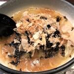 127169068 - 高菜とシラスの和風冷麺
