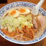 麺工房 武 - 味玉ラーメン(750円) 細麺