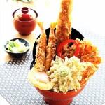天ぷら 天喜代 - 春の大江戸天丼