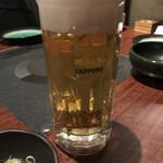 博多もつ鍋 九州家 - おビール