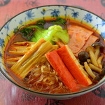 喜家酒館 - たっぷり野菜の四川鍋スーラータン