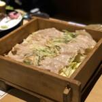 酒湊 - 豚肉セイロ蒸し