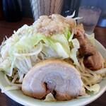 かじろうramen7 - ラーメン小 野菜まし にんにく脂まし