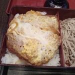 立川 増田屋 - カツ丼セットのカツ丼