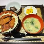 海鮮みらい - ソースフィッシュカツ丼定食