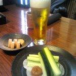 12719182 - ビールと肴