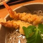 和食れすとらん 天狗 - 海老天ぷらそば