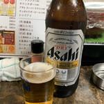 たちのみねこ - 瓶ビール(アサヒ)(大)   390円