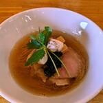 寿製麺よしかわ - 芳醇真鯛そば ¥800