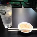川崎餃子樓 - レモンサワー
