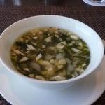 12720906 - 牛すじと豆腐入り若芽スープ