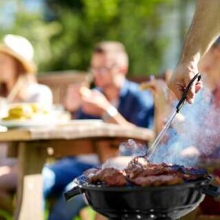 休日は家族や友人とお昼間BBQが大人気♪