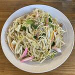ファミリー - 料理写真:皿うどんソフト麺@780