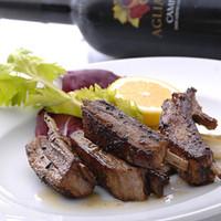 トラットリア・フランチェスカ - 仔羊肉のカチャトーラ