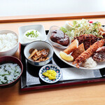 彩葉茶屋 - スタミナメガ定食