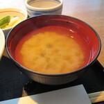 青ゆず 寅 - お味噌汁