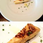 Caciucco - イタリアン・オムレツ。これで前菜は終わりではありませんのでご安心を。