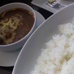 欧風カレー キュリー - チーズビーフカレー