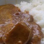 欧風カレー キュリー - 大き目のビーフが2切れ