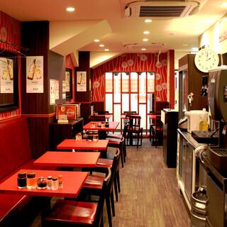 【珉珉三宮店から歩いてすぐ落ち着いた雰囲気の別館あり】