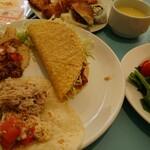 ラ サルサ サウザン カリフォルニア ブッフェ - 料理写真: