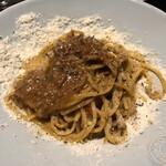 TSURUMI DINING - 牛挽肉とポルチーニ茸のボロネーゼ