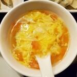 遼順茶楼 - ランチスープ