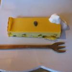 Sumi Cafe - 糸島産カボチャのチーズケーキ