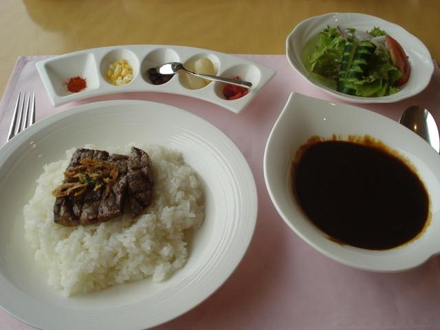 レストラン ACTY - グリルステーキのブラックカレー:1,000円