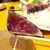 土佐清水ワールド - カツオの藁焼きはほのかに温かく、塩で食べると、しっかり燻製の香りを楽しめる