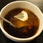 中国広東料理 えん - ウーロン茶ゼリー ※あっさりして美味しい