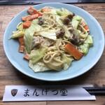 まん月堂 - 皿うどん(柔)=680円