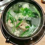 松阪牛 田じま - アキレス腱スープ