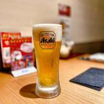 松阪牛 田じま - 生ビール