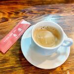 魚康 - 食後のコーヒー(サービス)