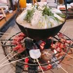猪料理 やまおく - 2020.3.7 鍋&焼肉