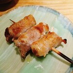 焼酉 川島 - 豚バラ生姜巻き