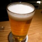 焼酉 川島 - ハートランドビール