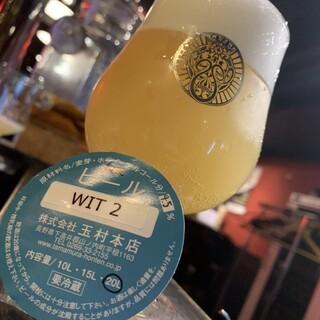 信州の地ビールと世界のビールも楽しめます。