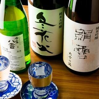 北海道の珍しい数々の地酒・地焼酎を多数ご用意しております♪