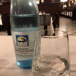 ラ ブラスリー - フジスパークリング935円(総額)。この炭酸水、ただものではありません。私史上最高の炭酸水です(╹◡╹)。すぐに更新されるかもしれませんが(笑)