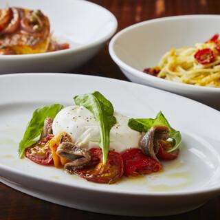 本格的な味わいのイタリアンをカジュアルに楽しむ