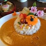 TAKEUCHI - タケウチの看板メニューと思われす「海カレー膳」