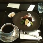 12726655 - 炭焼きコーヒーとガトーショコラ