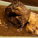 三祐酒場 - 鯖の味噌煮