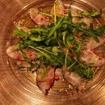 チェントアンニ - 鮮魚のカルパッチョ