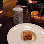 バー カヴァロ - お通し  美味しい!
