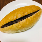麦の香 - 料理写真:つぶあん&ミルクバター   160円なり