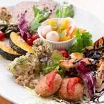 お野菜とおすすめ前菜の盛り合わせ